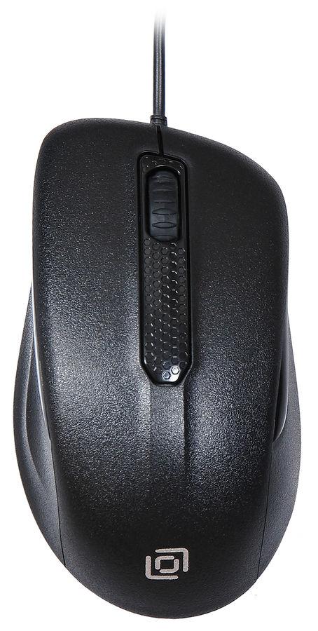 Мышь OKLICK 175M оптическая проводная USB, черный [mw-1323]