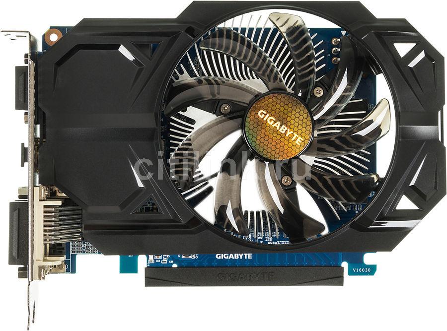 Видеокарта GIGABYTE GeForce GT 740,  GV-N740D5OC-2GI,  2Гб, GDDR5, Ret