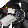 Вентилятор DEEPCOOL XFAN 80 V2,  80мм, Bulk вид 4