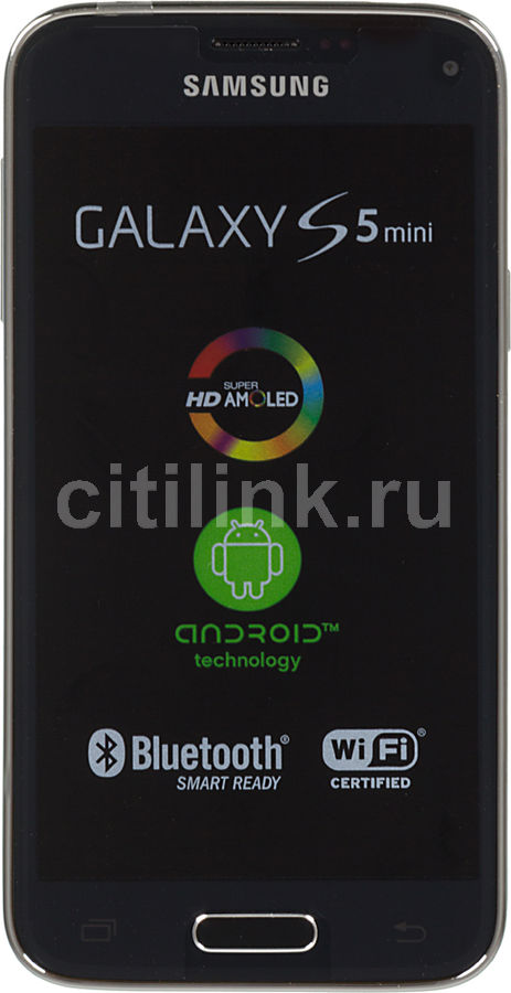 Смартфон SAMSUNG Galaxy S5 mini SM-G800F  синий
