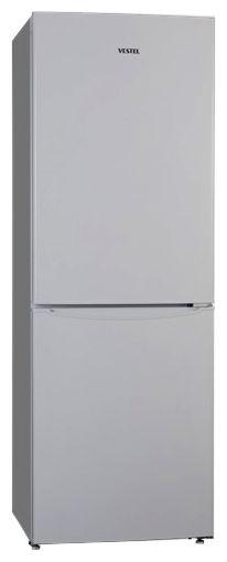 Холодильник VESTEL VCB 330 МS,  двухкамерный,  серебристый