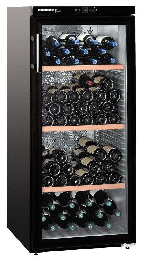 Винный шкаф LIEBHERR WKb 3212 Vinothek,  однокамерный,  черный