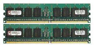 Модуль памяти KINGSTON KVR800D2N6K2/2G DDR2 -  2x 1Гб 800, DIMM,  Ret
