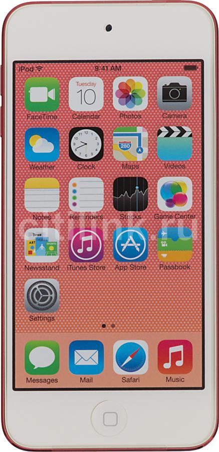 MP3 плеер APPLE iPod touch 5 flash 16Гб розовый/белый [mgfy2ru/a]
