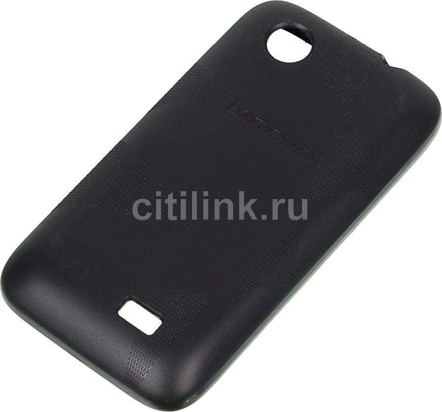 Чехол (клип-кейс) LENOVO Acc cover, 1150797 PG39A465T3, для Lenovo A369I, черный