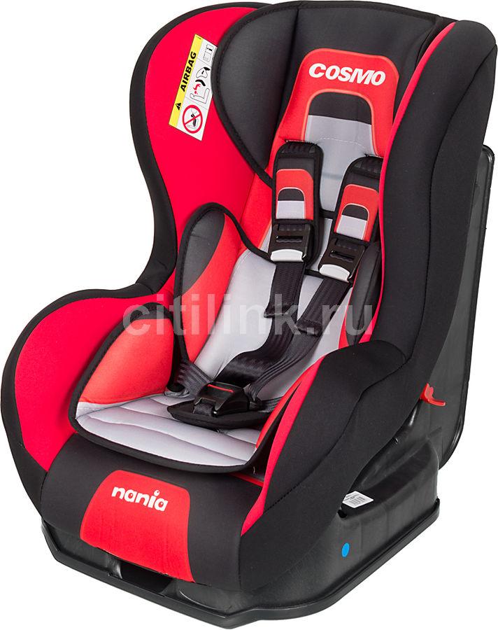 Автокресло детское NANIA Cosmo SP PL (melbourne carmin), 0+/1, черный/красный [083071]