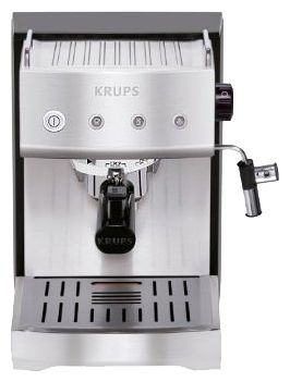 Кофемашина KRUPS XP528030,  черный/серебристый