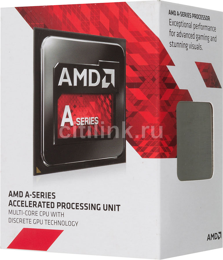 Процессор AMD A10 7800, SocketFM2+ BOX [ad7800ybjabox]