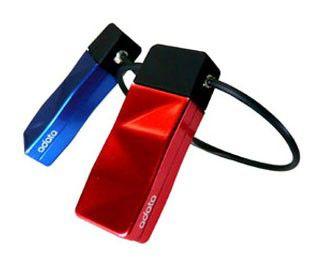 Флешка USB A-DATA Nobility N702 8Гб, USB2.0, голубой