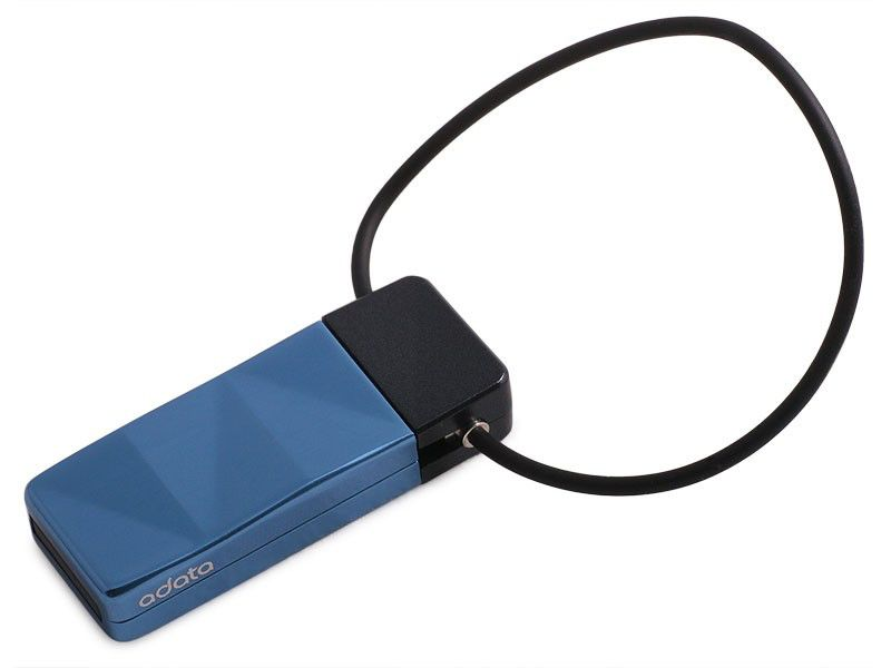 Флешка USB A-DATA Nobility N702 16Гб, USB2.0, синий