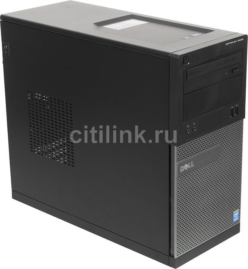 Компьютер  DELL Optiplex 3020,  Intel  Core i5  4590,  DDR3 8Гб, 1Тб,  Intel HD Graphics 4600,  DVD-RW,  Windows 7 Professional,  черный и серый [3020-1888]