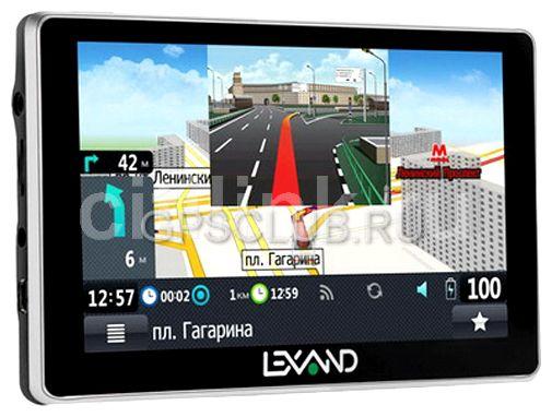 "GPS навигатор LEXAND SA5,  5"",  авто, 4Гб, Navitel,  серый"