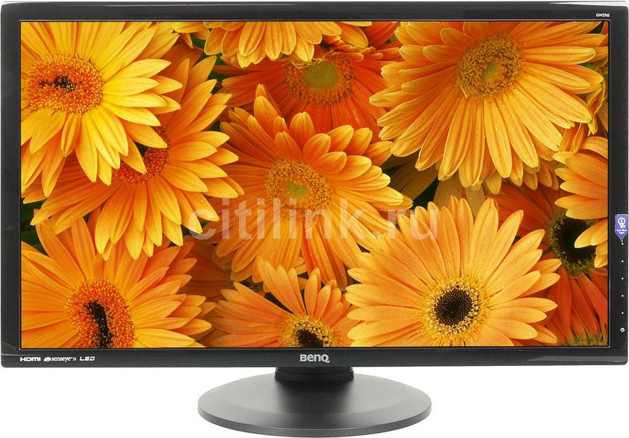 """Монитор Benq 27"""" GW2765HT Glossy-Black AH- VA LED 4ms 16:9 DVI HDMI DispPort M/M H (плохая упаковка)"""
