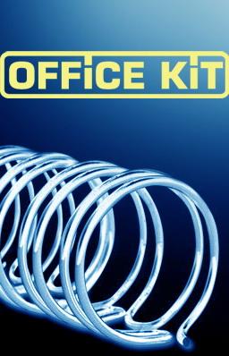 Пружина металлическая OFFICE KIT OKPM516W,  8мм,  30 - 50 листов,  A4,  100,  белый