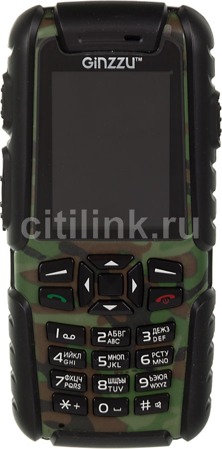Мобильный телефон GINZZU R6 Ultimate зеленый