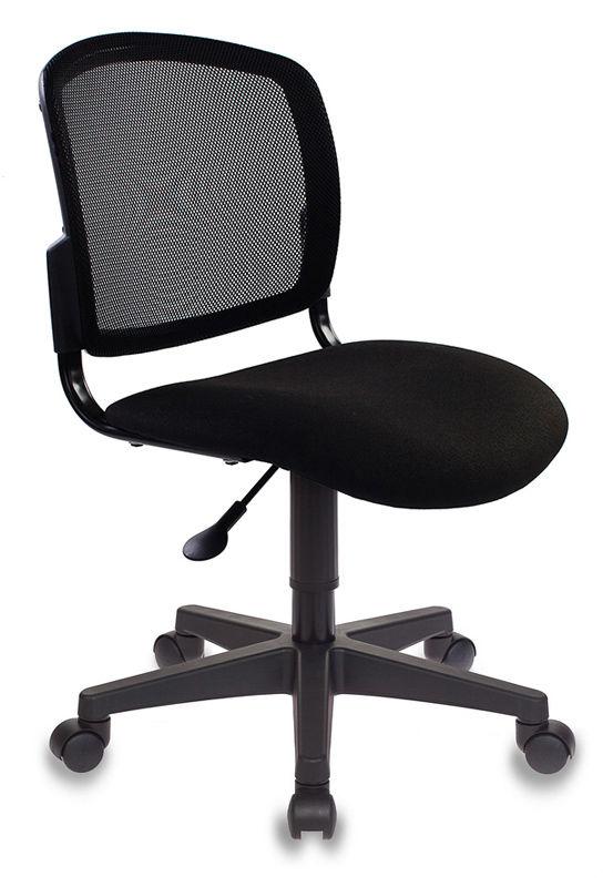 Кресло БЮРОКРАТ CH-296NX, на колесиках, ткань, черный [ch-296nx/15-21]