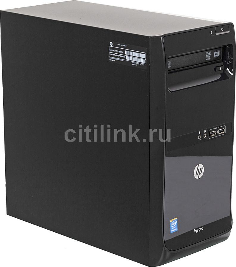 Компьютер  HP Pro 3500 G2,  Intel  Pentium Dual-Core  G2030,  DDR3 4Гб, 500Гб,  Intel HD Graphics,  DVD-RW,  Free DOS,  черный [g9e79ea]