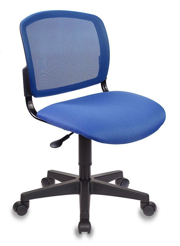Кресло БЮРОКРАТ CH-296NX, на колесиках, ткань, синий [ch-296/bl/15-10]