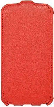 Чехол (флип-кейс) ARMOR-X flip full, для HTC Desire 516 Dual Sim, красный