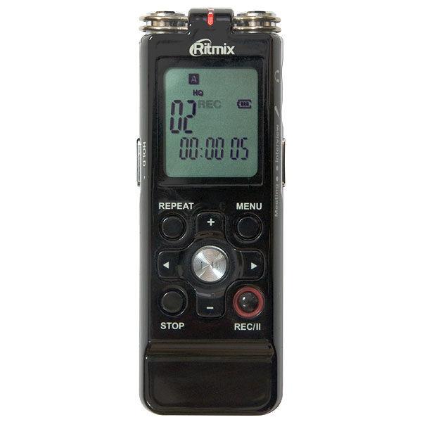 Диктофон RITMIX RR-850 2 Gb,  черный [15112789]