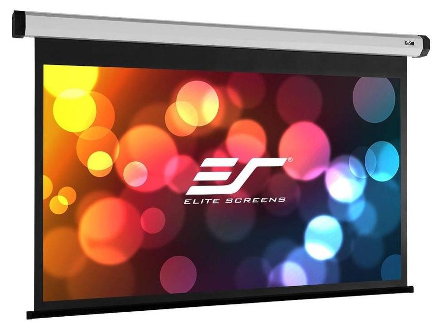 Экран ELITE SCREENS Spectrum Electric110XH,  243.8х137.2 см, 16:9,  настенно-потолочный черный
