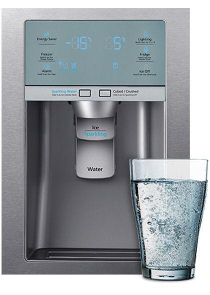 Холодильник SAMSUNG RF24HSESBSR,  трехкамерный,  серебристый [rf24hsesbsr/wt]