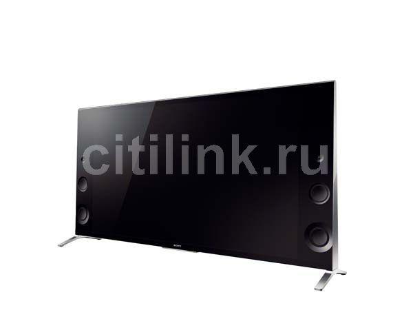 "LED телевизор SONY KD-55X9005B  55"", 3D,  Ultra HD 4K (2160p),  черный/ серебристый"