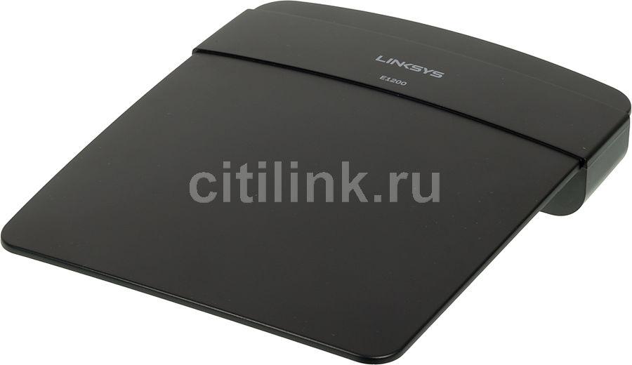 Маршрутизатор LINKSYS E1200,  черный [e1200-ru]