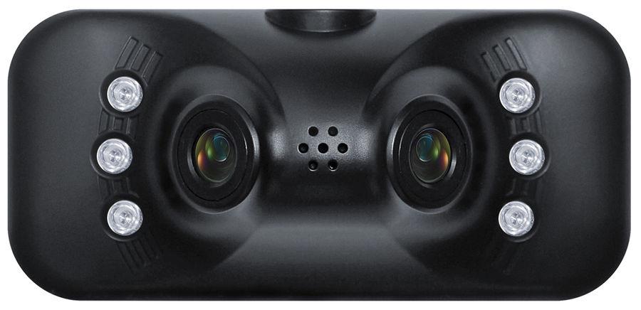 Видеорегистратор SUPRA SCR-820DC черный