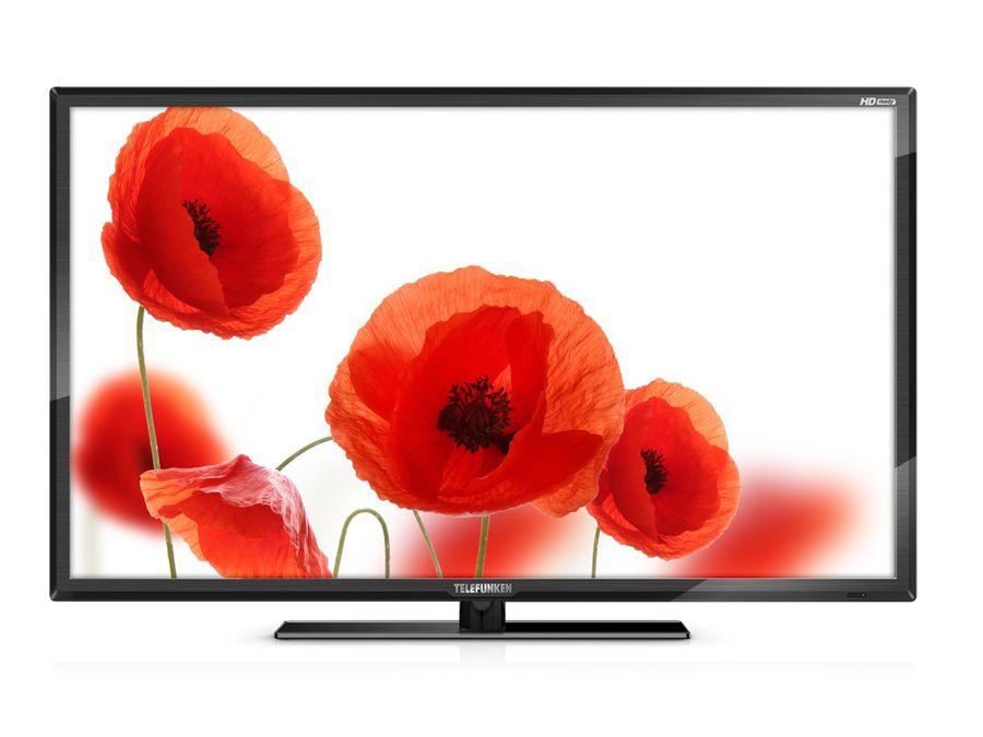 """LED телевизор TELEFUNKEN TF-LED32S26T2  """"R"""", 31.5"""", HD READY (720p),  черный"""
