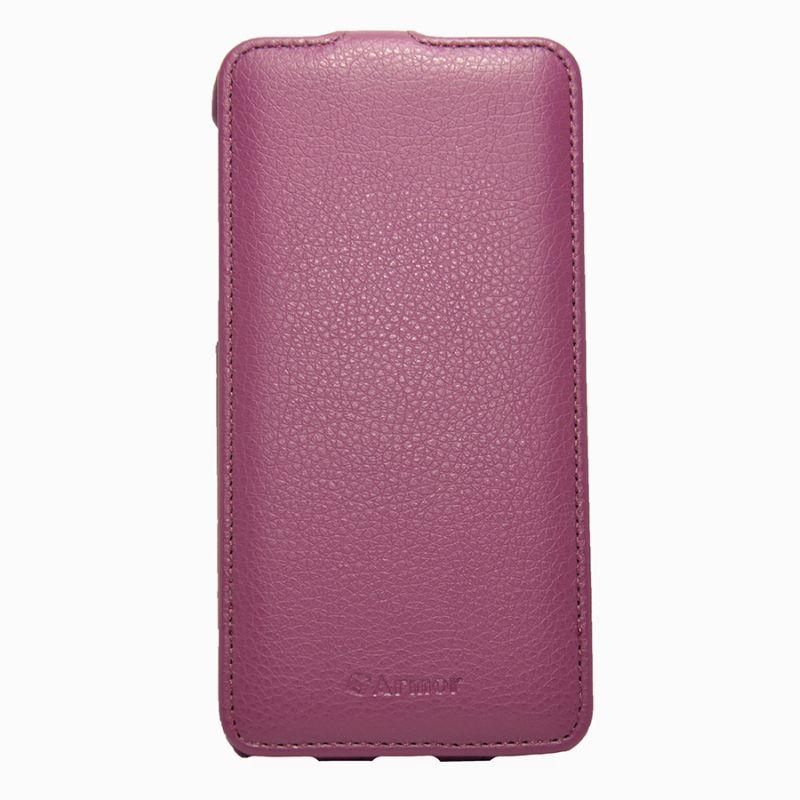 Чехол (флип-кейс) ARMOR-X flip full, для Apple iPhone 6 Plus, пурпурный