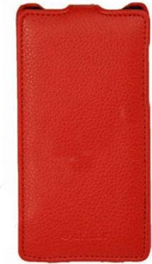 Чехол (флип-кейс) ARMOR-X flip full, для Sony Xperia C3, красный