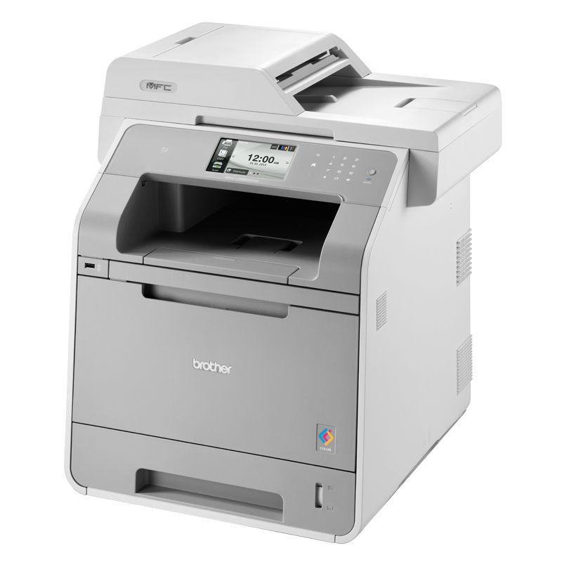 МФУ BROTHER MFC-L9550CDW,  A4,  цветной,  лазерный,  серый [mfcl9550cdwr1]