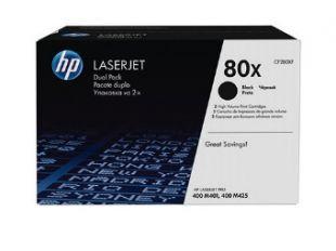 Двойная упаковка картриджей HP CF280XF черный