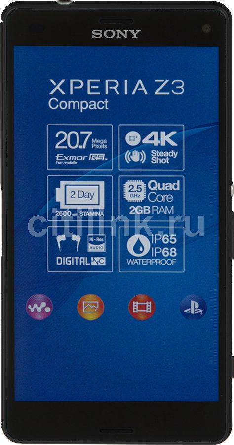 Смартфон SONY Xperia Z3 Compact D5803  черный