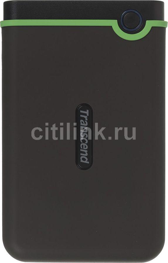 Внешний жесткий диск TRANSCEND StoreJet 25M3 TS2TSJ25M3, 2Тб, серый