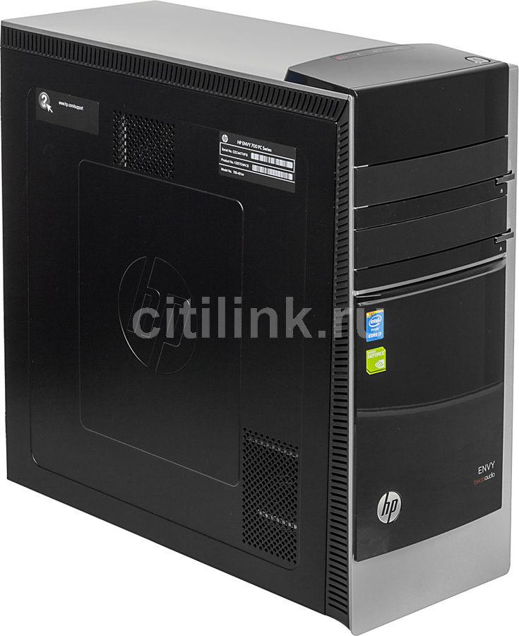 Компьютер  HP Envy 700-401nr,  Intel  Core i7  4790,  DDR3 16Гб, 1000Гб,  128Гб(SSD),  nVIDIA GeForce GTX 745 - 4096 Мб,  DVD-RW,  CR,  Windows 8.1,  черный и серебристый [k2b57ea]