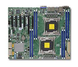 Серверная материнская плата SUPERMICRO MBD-X10DRL-i-O,  Ret