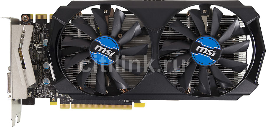 Видеокарта MSI GeForce GTX 970,  GTX 970 4GD5T OC,  4Гб, GDDR5, OC,  Ret