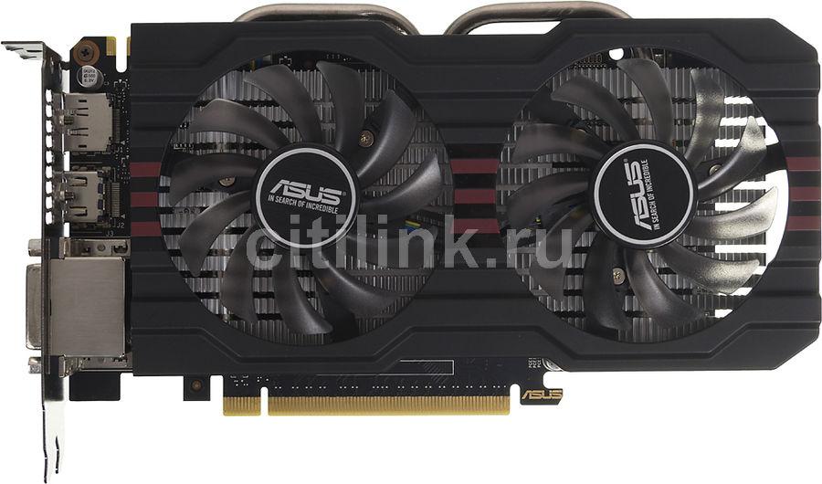 Видеокарта ASUS nVidia  GeForce GTX 660 ,  GTX660-DC2PH-2GD5,  2Гб, GDDR5, Ret