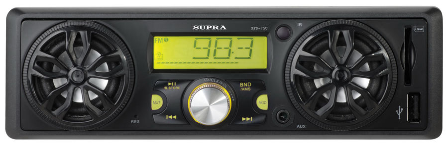 Автомагнитола SUPRA SFD-75U,  USB,  SD