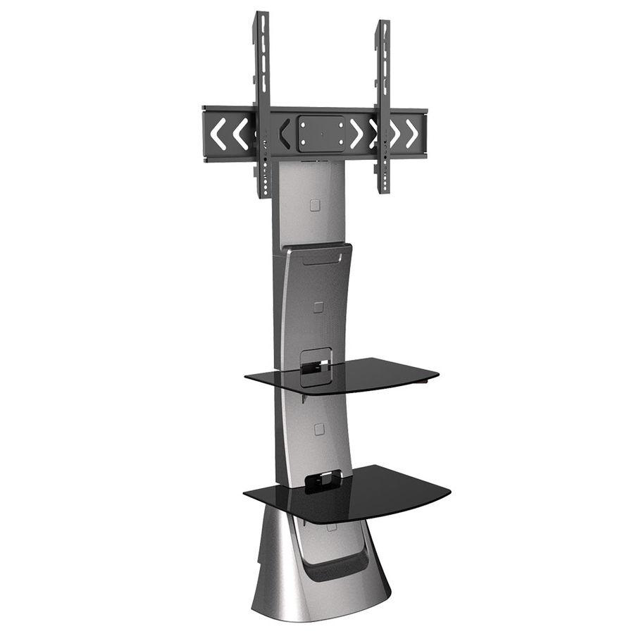 """Подставка для телевизора Arm Media Triton-10 светло-серый 32""""-70"""" макс.40кг настенный фиксированный [10126]"""