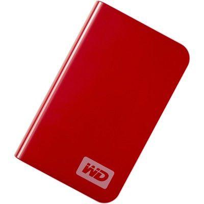 Внешний жесткий диск WD My Passport Essential WDMER3200, 320Гб, красный [wdmer3200te]