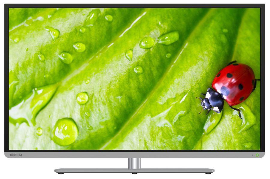 """LED телевизор TOSHIBA REGZA 40L5455R  40"""", 3D,  FULL HD (1080p),  черный"""