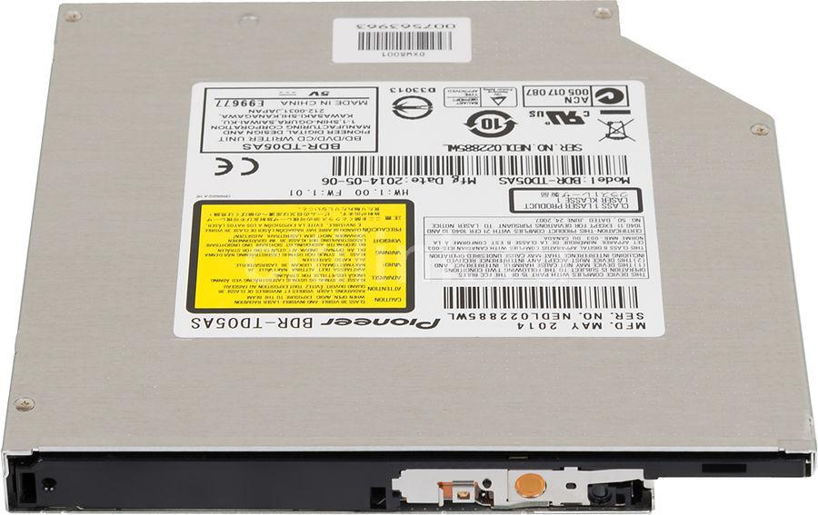 Оптический привод Blu-Ray PIONEER BDR-TD05AS, внутренний, SATA, черный,  OEM