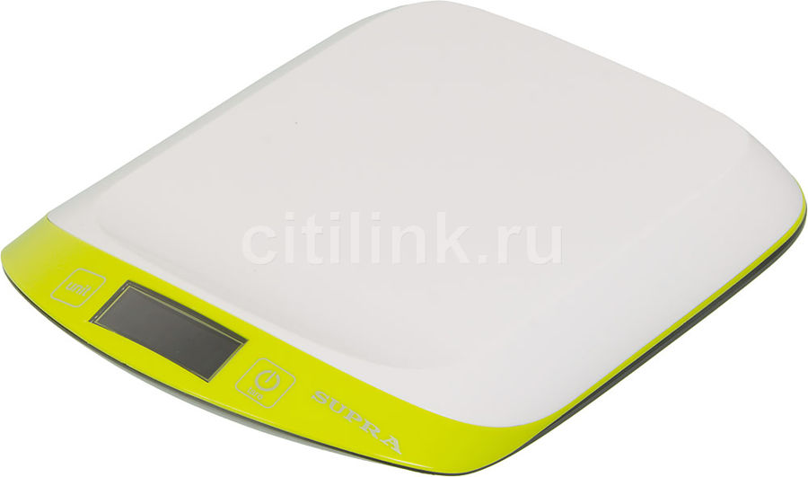 Весы кухонные SUPRA BSS-4098,  зеленый