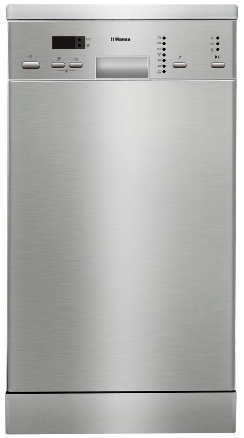 Посудомоечная машина HANSA ZWM407IH,  узкая, серебристая