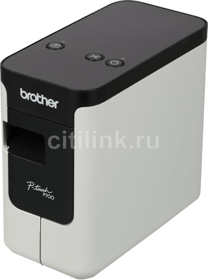 Принтер Brother P-touch PT-P700 стационарный черный/белый [ptp700r1]