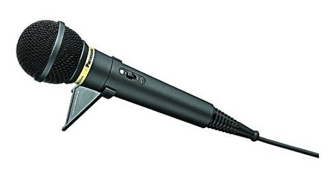 Микрофон Panasonic RP-VK251E-K экран шума медный кабель 3м O4мм стойка позолоченный адаптер