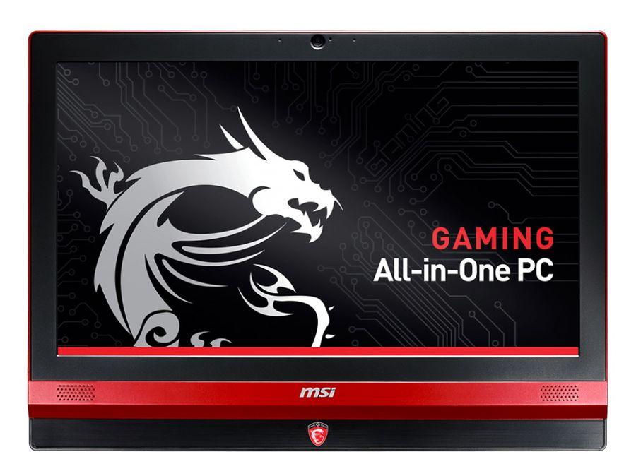 Моноблок MSI AG240 2PE-037, Intel Core i5 4210H, 8Гб, 1000Гб, nVIDIA GeForce GTX 860M - 2048 Мб, DVD-RW, Windows 8.1, черный и красный [9s6-ae6711-037]